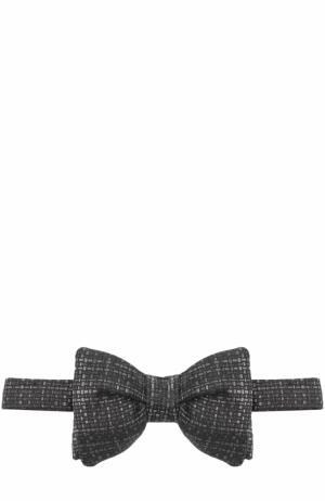 Шелковый галстук-бабочка Tom Ford. Цвет: темно-серый