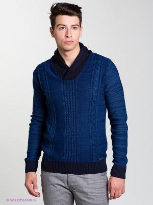 Пуловер SANTIAGO Salsa. Цвет: синий