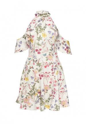Платье Miss Selfridge. Цвет: белый