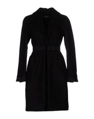 Пальто TOMASO. Цвет: черный