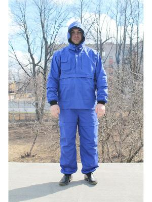 Костюм Барьер-Инсекто защита от клещей и насекомых SMART-TEXTILE. Цвет: синий