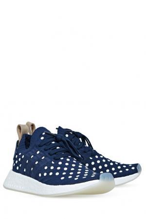 Кроссовки NMD_R2 Primeknit Adidas. Цвет: none