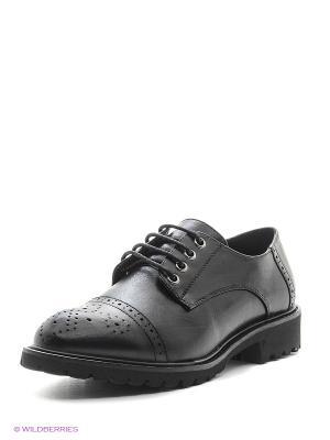 Туфли Aotoria. Цвет: черный