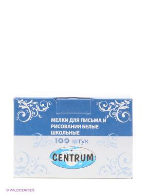 Мелки школьные белые Centrum. Цвет: синий