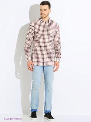Рубашка S.OLIVER. Цвет: кремовый