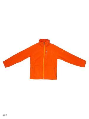 Толстовка Columbia. Цвет: оранжевый