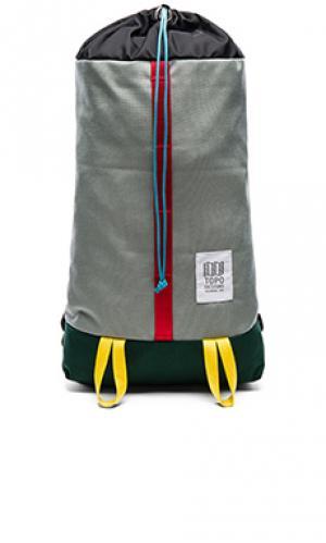 Рюкзак cosmos TOPO DESIGNS. Цвет: серый
