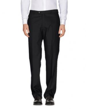 Повседневные брюки MAESTRAMI. Цвет: черный