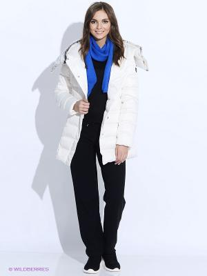 Куртка EA7. Цвет: белый