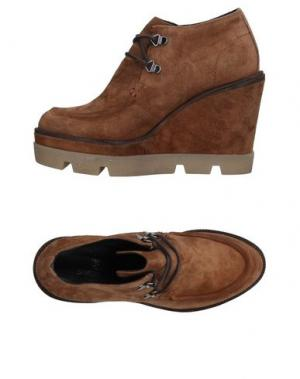 Обувь на шнурках JANET SPORT. Цвет: верблюжий
