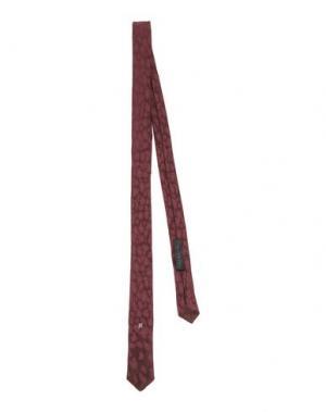 Галстук JOHN RICHMOND. Цвет: красно-коричневый