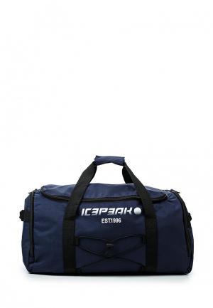 Сумка спортивная Icepeak. Цвет: синий