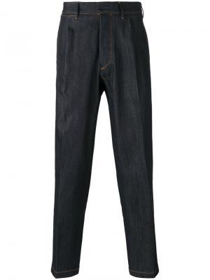 Укороченные джинсы Tonga The Gigi. Цвет: синий