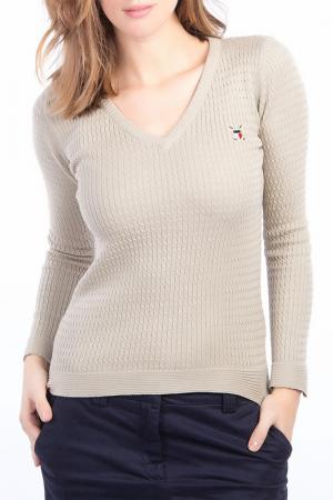 Пуловер POLO CLUB С.H.A.. Цвет: beige