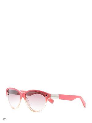 Солнцезащитные очки DQ 0147 44F Dsquared2. Цвет: серебристый, бежевый, розовый