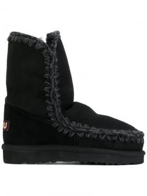 Ботинки Eskimo 24 Mou. Цвет: чёрный