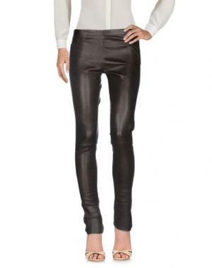 Повседневные брюки SYLVIE SCHIMMEL. Цвет: темно-коричневый