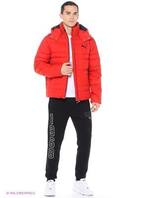 Куртка Active Hooded Down Jacket M Puma. Цвет: красный