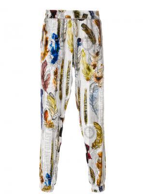Спортивные брюки Astrid Andersen. Цвет: многоцветный