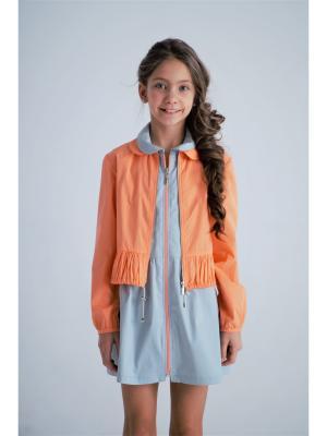 Блузон BONNE CHANCE!. Цвет: оранжевый