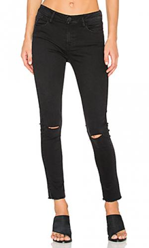 Рваные укороченные джинсы Etienne Marcel. Цвет: none
