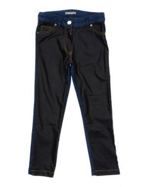 Джинсовые брюки MISS GRANT. Цвет: синий