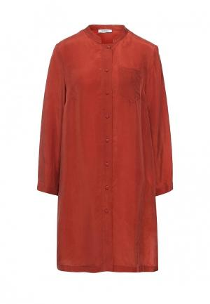 Туника Max&Co. Цвет: бордовый