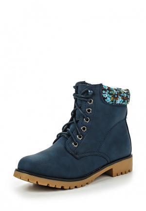 Ботинки Buonarotti. Цвет: синий