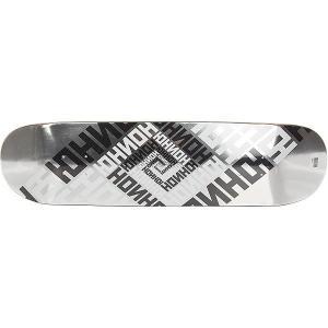 Дека для скейтборда  Skateboard Team Silver 32 x 8.125 (20.6 см) Юнион. Цвет: черный,белый,серый