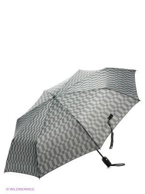 Зонт Eleganzza. Цвет: серый, темно-серый