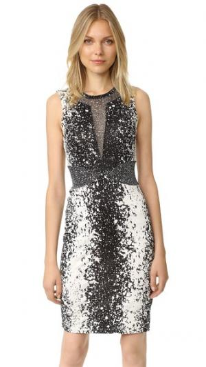 Платье Ilsie Diane von Furstenberg. Цвет: черный stella/черный stella мини