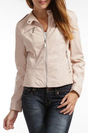 Куртка RINO & PELLE. Цвет: розовый