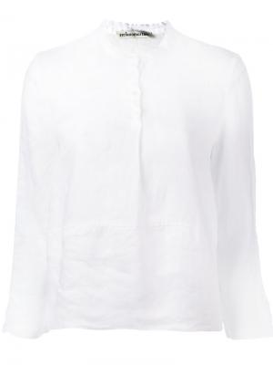 Классическая рубашка Stefano Mortari. Цвет: белый