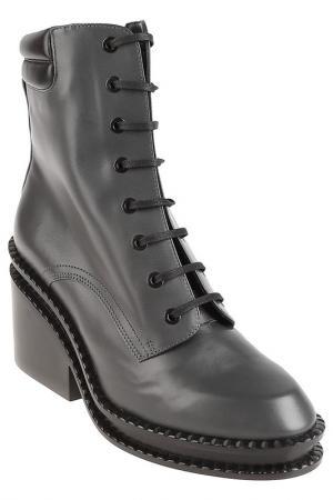 Ботинки Robert Clergerie. Цвет: серый
