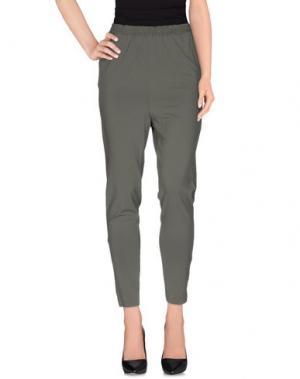 Повседневные брюки SISTE' S. Цвет: зеленый-милитари