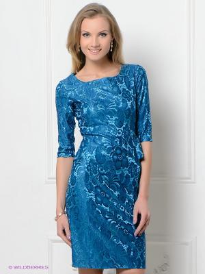 Платье Hammond. Цвет: лазурный