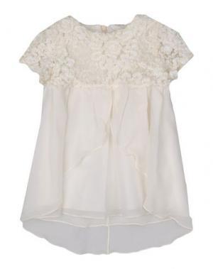 Платье NANÁN. Цвет: слоновая кость
