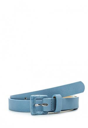 Ремень Pieces. Цвет: голубой