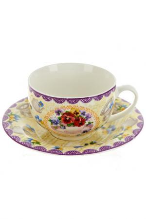 Чайный набор 2 пр, 230 мл Nouvelle. Цвет: мультицвет