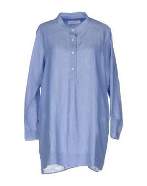 Pубашка AMINA RUBINACCI. Цвет: пастельно-синий