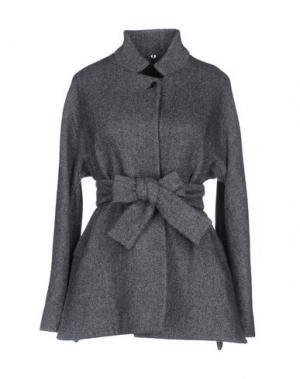 Пальто N_8. Цвет: серый