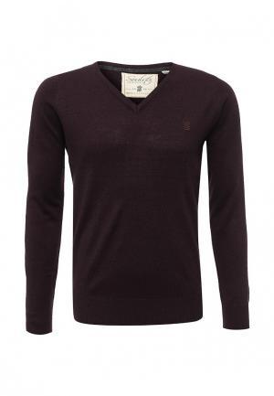Пуловер Soulstar. Цвет: бордовый