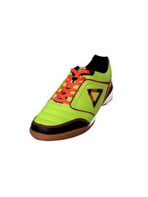 Кроссовки FutsalPro TALEN. Цвет: черный, оранжевый, светло-желтый