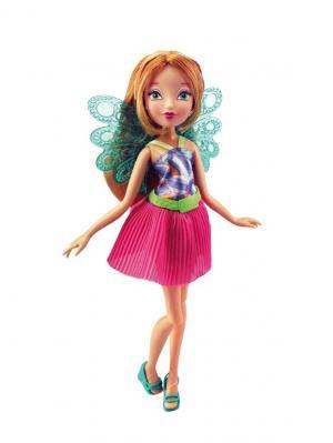 Кукла Winx Club Волшебный питомец, Flora. Цвет: бирюзовый, малиновый, золотистый