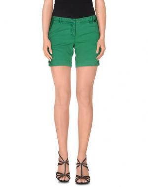 Повседневные шорты JUST FOR YOU. Цвет: зеленый