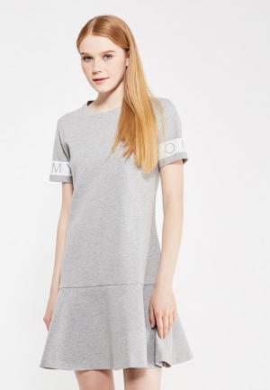 Платье Tommy Hilfiger Denim. Цвет: серый