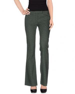 Повседневные брюки TERESA DAINELLI. Цвет: зеленый