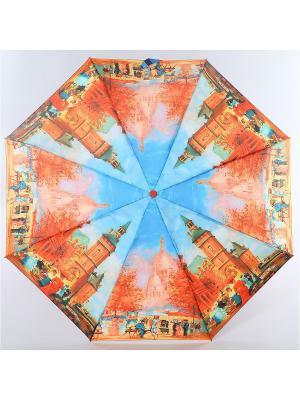 Зонт Zest. Цвет: горчичный,голубой,рыжий