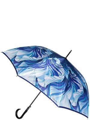 Зонт-трость Eleganzza. Цвет: синий, голубой