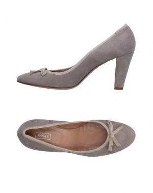 Туфли ANNA F.. Цвет: серый